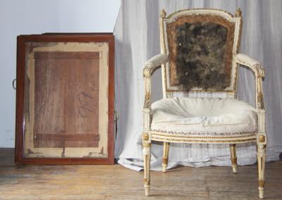 Louis XVI Seize armchair